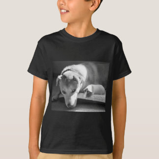 Dog and Guinea Pig T-Shirt