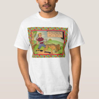 Dog and owner hunting shirt