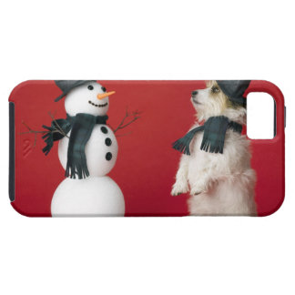 Dog and Snowman Case For The iPhone 5