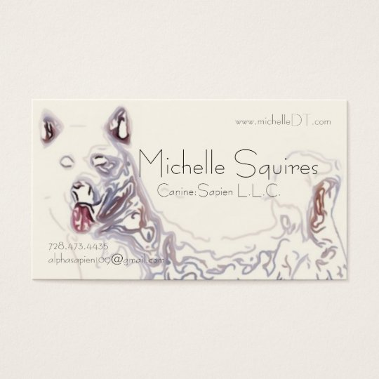 Dog Art Tech of Juno Business Card