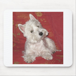 Dog Art: the Westie Mouse Mat