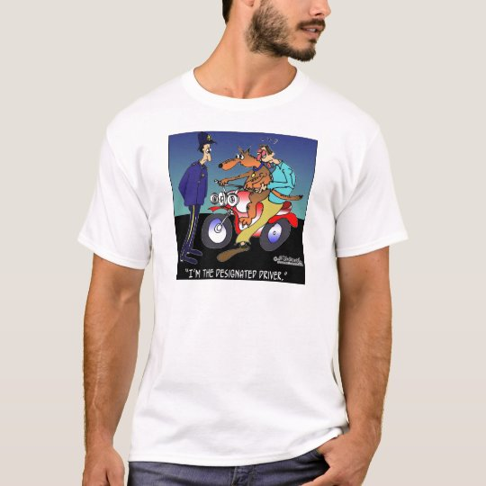 Dog As Designated Driver T-Shirt
