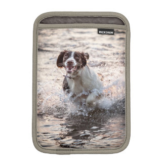 Dog At The Beach iPad Mini Sleeve
