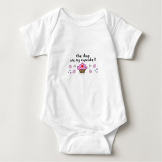 dog ate my cupcake baby bodysuit