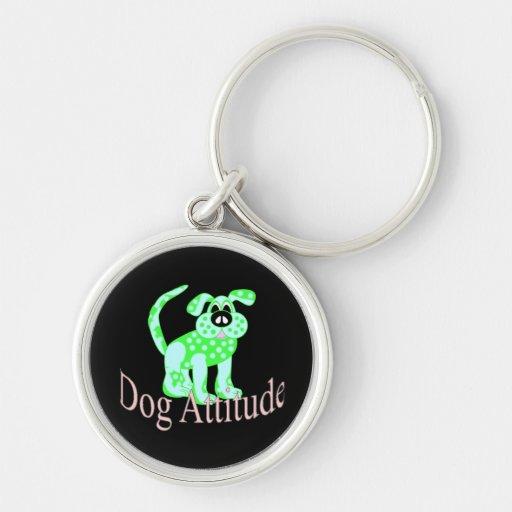Dog Attitude Key Chain