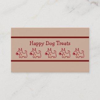 Dog Bakery Business Cards