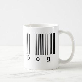 Dog Barcode Coffee Mugs