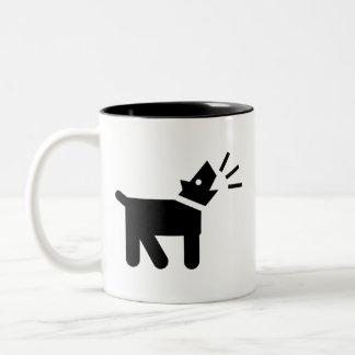 'Dog Bark' Pictogram Mug