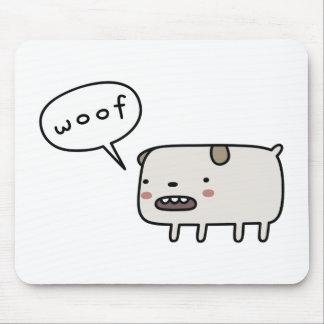 Dog Barking Mouse Pad