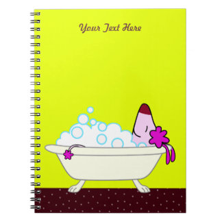 Dog Bath for Pet Groomers - yellow Notebooks
