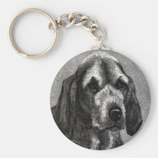 Dog (Beagle) Keychain