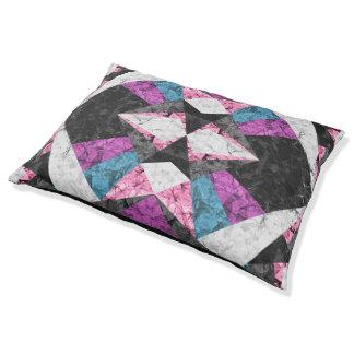 Dog Bed Marble Geometric Background G438