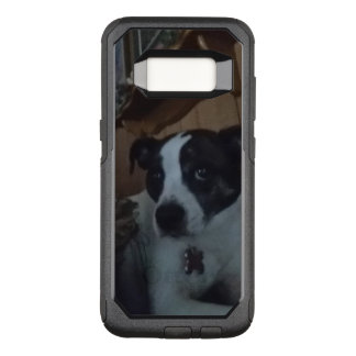 dog bella rolling eyes OtterBox commuter samsung galaxy s8 case