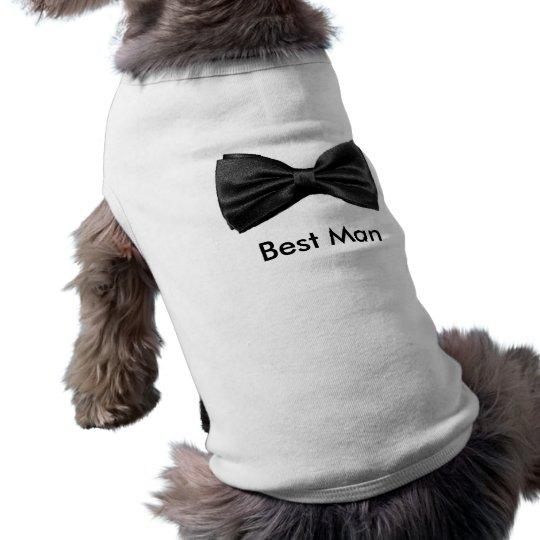 Dog Best Man Shirt