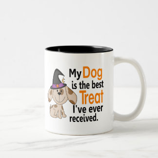 Dog Best Treat Halloween Mugs