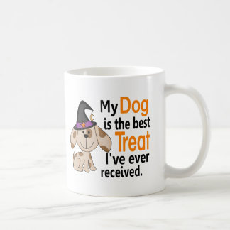 Dog Best Treat Halloween Mug