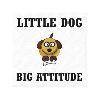 Dog Big Attitude Canvas Print