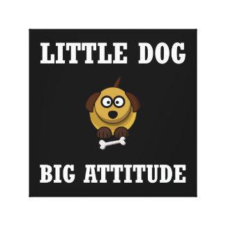 Dog Big Attitude Canvas Prints