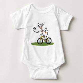Dog Biker Baby Bodysuit