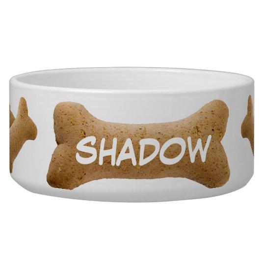 Dog Biscuit Dog Bowl
