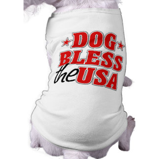 Dog Bless The USA Dog Shirt