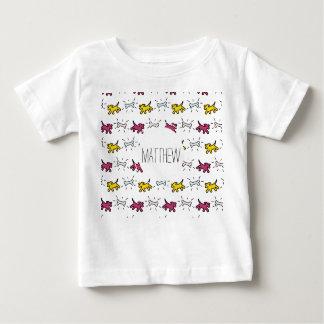 Dog Bone Graffiti Style Name Choose Color 2 Baby T Baby T-Shirt