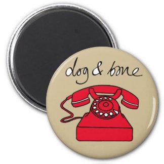 Dog & Bone 'Phone'Cockney Rhyming Slang Magnet