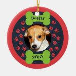 Dog Bone Photo Ornament