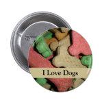 Dog Bones Buttons