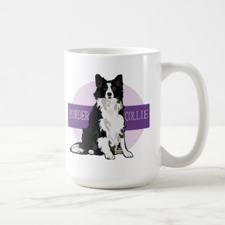 Dog Border Collie Coffee Mug