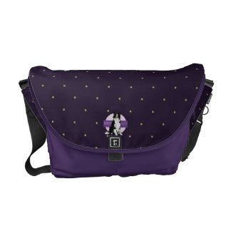 Dog Border Collie Courier Bag