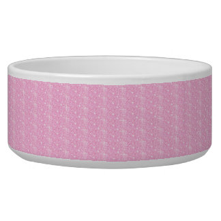 Dog Bowl Baby Pink Glitter