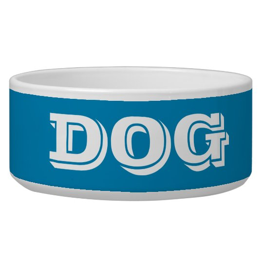 Dog Bowl by Janz Large Steel Blue