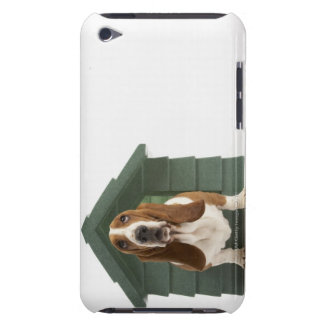 Dog by doghouse barely there iPod covers