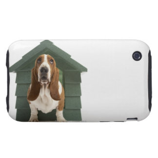 Dog by doghouse tough iPhone 3 cases