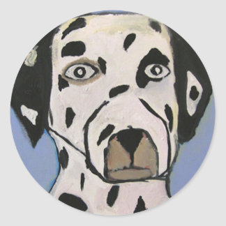dog by eric ginsburg stickers