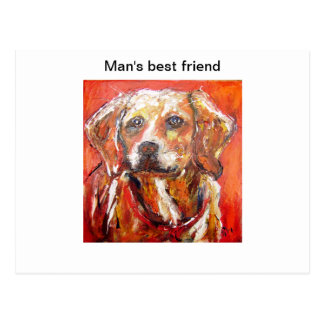 Dog by pixi-art com post cards