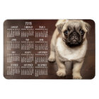 Dog calendar 2018 Photo Large Magnet 4x6