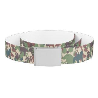 Dog Camouflage Pattern Belt