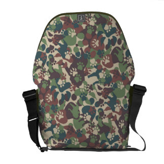 Dog Camouflage Pattern Commuter Bags