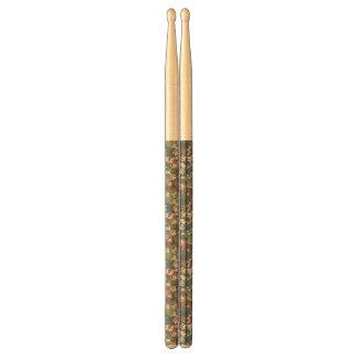 Dog Camouflage Pattern Drumsticks