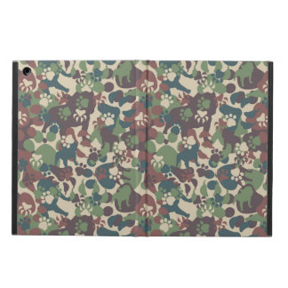 Dog Camouflage Pattern iPad Air Cover