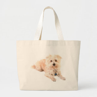 Dog Canine pets animals pet lovers kennels Canvas Bags
