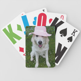 dog card template bicycle poker deck