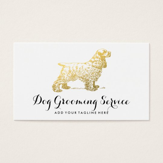 DOG CARE BUSINESS | DOG LOVER BUSINESS CARD