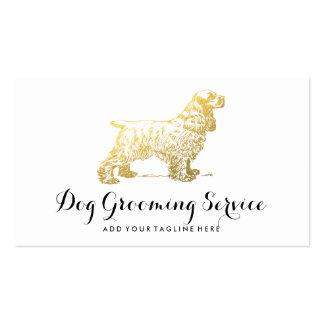 DOG CARE BUSINESS | DOG LOVER PACK OF STANDARD BUSINESS CARDS
