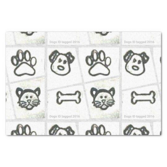 Dog & Cat Tissue Paper