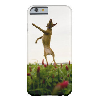 Dog catching tennis ball in mid-air barely there iPhone 6 case