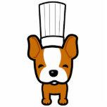 Dog Chef Mascot Art - Sculpture