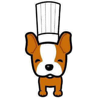 Dog Chef Mascot Art - Sculpture Standing Photo Sculpture